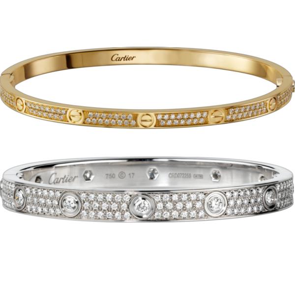 Cartier: LOVE Armbänder – Liebe schenken